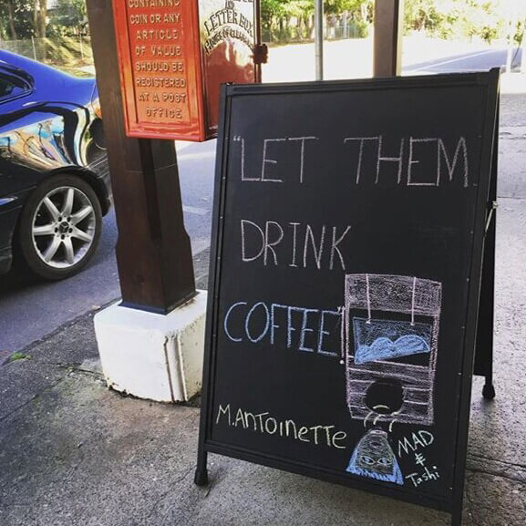Let them drink coffee!