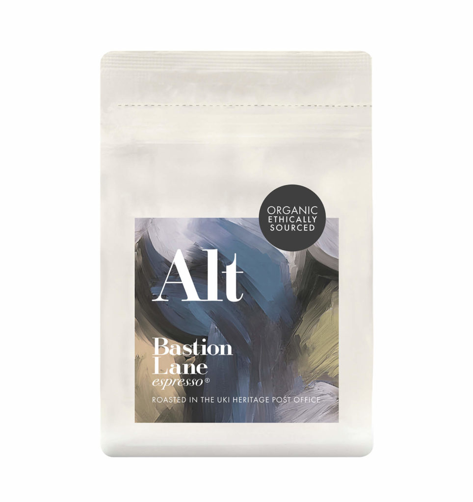 Alt Blend by Bastion Lane Espresso - Organic Ethically Sourced Coffee