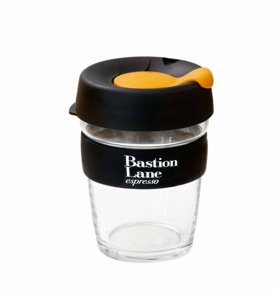 Keep Cup Large - Clear and Premium quality Coffee Keepcup by Bastion Lane Espresso