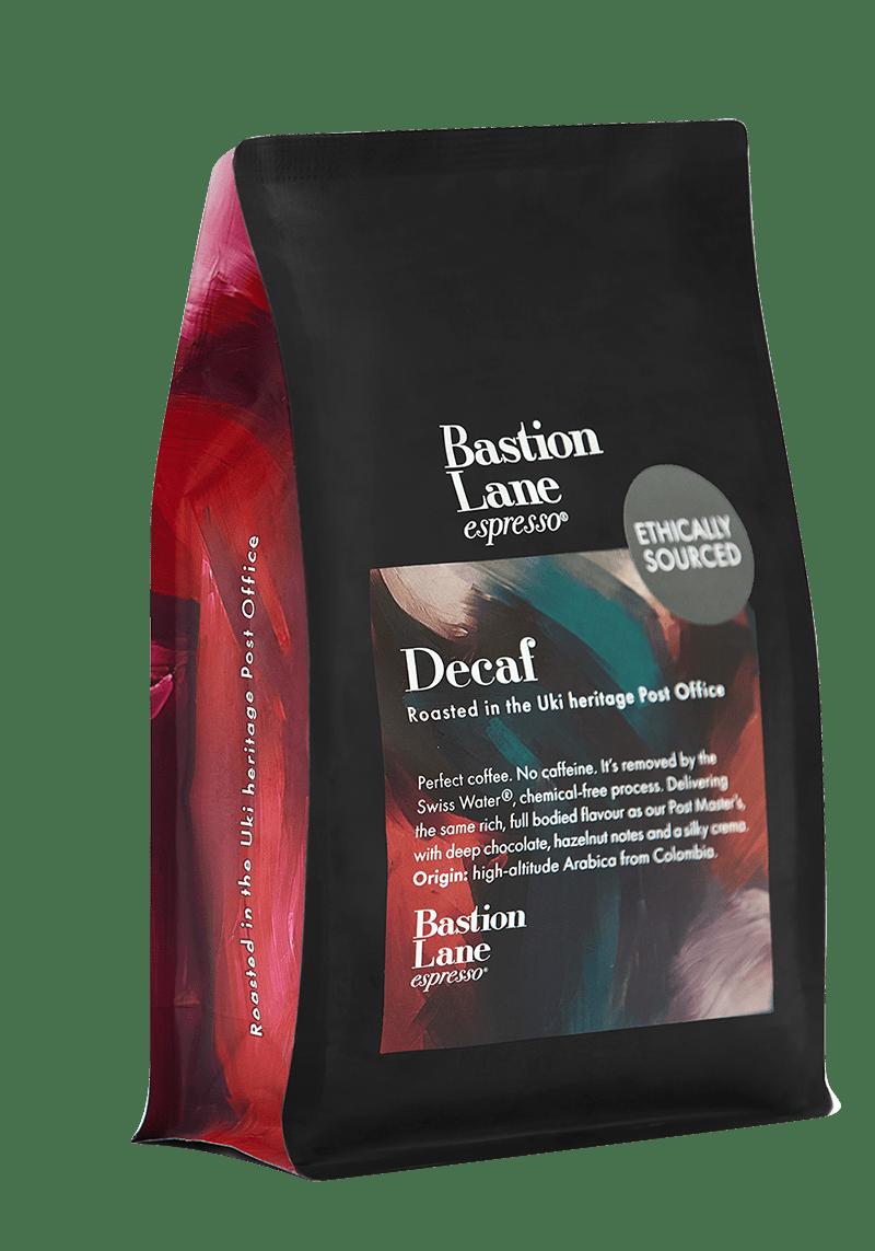 Decaf Coffee - A Perfect Decaffeinated Blend by Bastion Lane Espresso