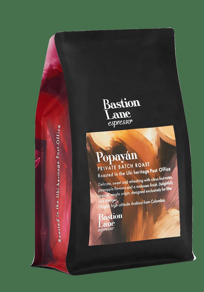 POPAYÁN FILTER: Private Batch Roast by Bastion Lane Espresso