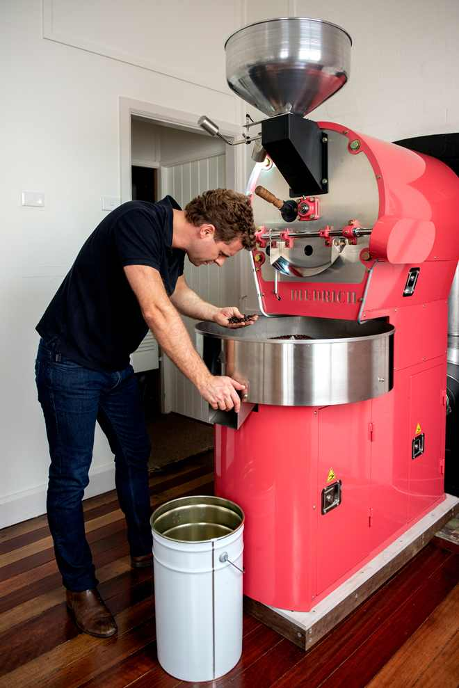 Coffee roasters in Uki NSW Australia