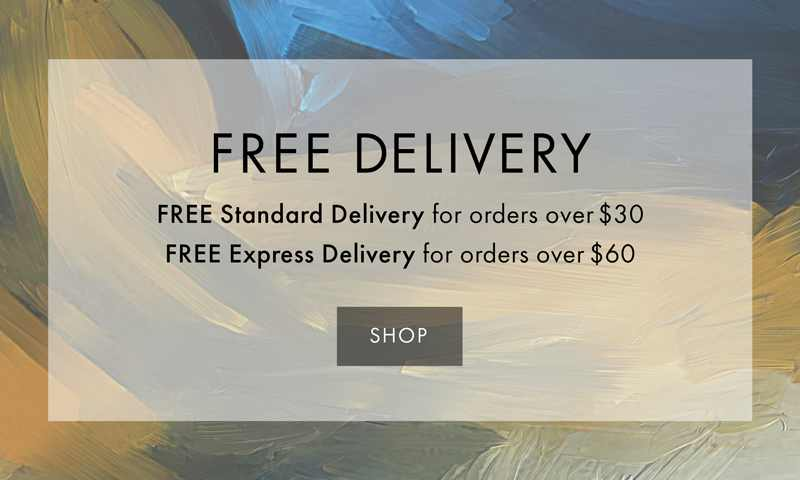 Free Standard Delivery on Order over $30 and Free Express Delivery on Orders over $60
